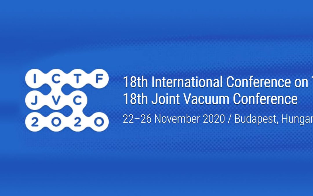 ICTF-JVC 2020 18th International Conference on Thin Films & 18th Joint Vacuum Conference